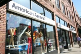American Apparel, downtown Ann