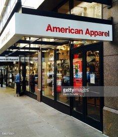 American Apparel, clothing
