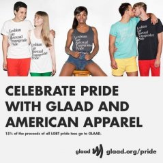 GLAAD and American Apparel