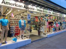 American Apparel, Los Angeles