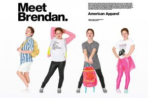 New American Apparel Ads Star