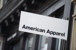 American Apparel announced on