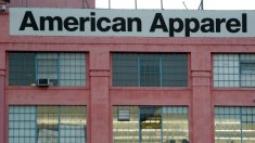 The American Apparel factory