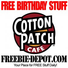 BIRTHDAY FREEBIE – Cotton