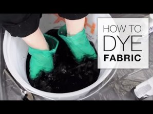 How to Dye Fabric (Immersion