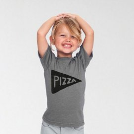 NEW Kids Pizza Tshirt american