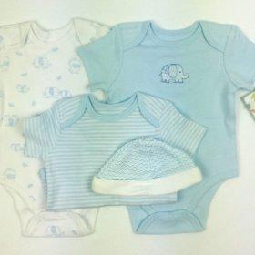 Little Me Baby Boys Blue