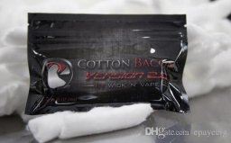 Organic cotton USA bacon vape