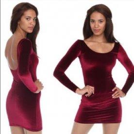Red Velvet Dress American