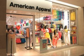 The American Apparel in