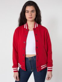 The Crimson Baseball Jacket Is