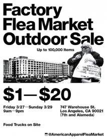 American Apparel Flea Market