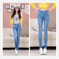 Women Jeans Fashion Denim