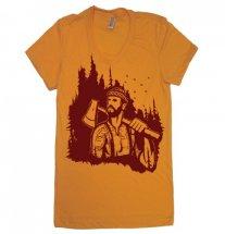 Womens Lumberjack Forest T