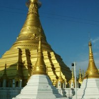 Buddhism affects lots of the customs of Myanmar.