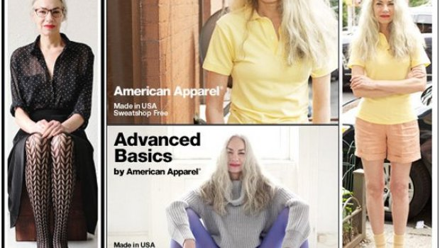 American Apparel older model