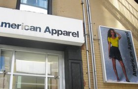 American Apparel downtown Brooklyn