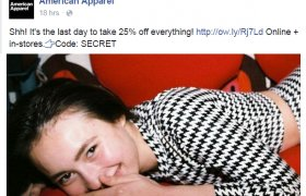 American Apparel Facebook