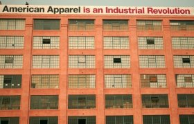 American Apparel Factory Los Angeles