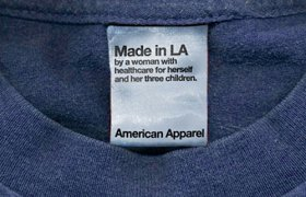 American Apparel Made in American