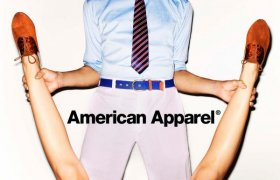 American Apparel Magazine ads