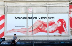 American Apparel now open ad