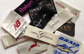 Cotton Labels for Clothing