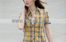 Cotton Short Sleeve Blouses