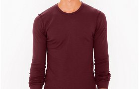 Henley shirts American Apparel