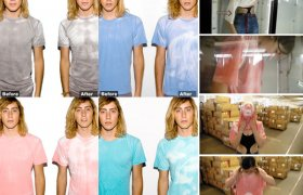 Hypercolor shirts American Apparel