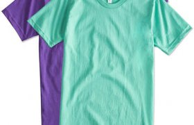 Make your own t shirts American Apparel