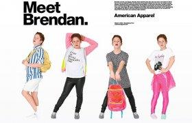 New American Apparel ads