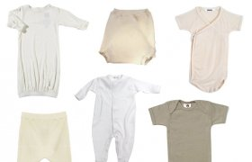 Organic bamboo baby clothes