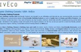 Organic cotton Clothing Canada