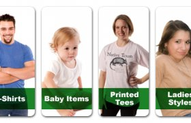 Organic cotton t-shirts made in USA