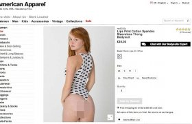 Sexy American Apparel ads