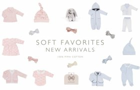 Soft cotton baby clothes