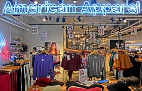 Stores American Apparel wholesale