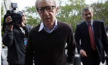Woody Allen gets to a York federal courthouse in American Apparel instance